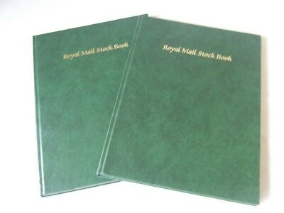 PAIR OF ROYAL MAIL A4 8 WHITE PAGES (16 sides) STAMP STOCKBOOKS, EXCELLENT