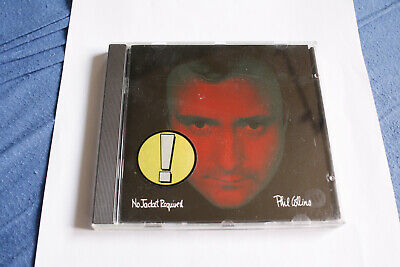 CD Phil Collins *No Jacket Required* France