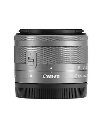 CANON EF-M 15-45mm f/3.5-6.3 IS STM - Obiettivo zoom (Argento)
