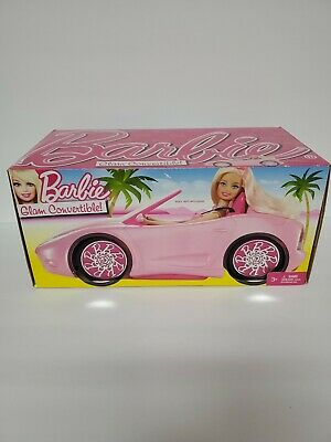 2011 Barbie Pink Glam Convertible New In Box Mattel