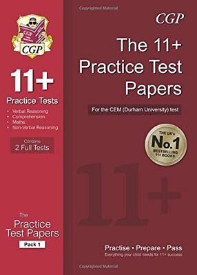 11+ Practice Tests for CEM Test Pack 1, CGP Books, Read details before buy