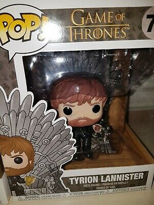 Funko Pop Game of Thrones #71 Tyrion Lannister on Throne