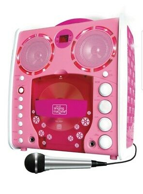 Singing Machine SML-383 Portable CD-G Karaoke Player and 3 CDGs Party Pack - Pin