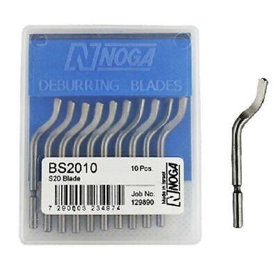 NOGA BS2010 blades Universal rotary deburring Double-sided blade More flexible