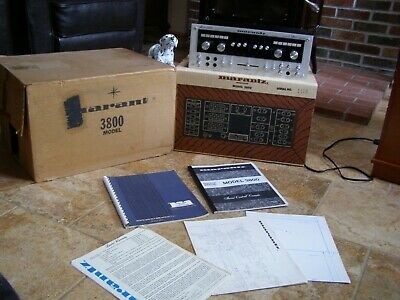 Vintage Marantz 3800 Preamplifier  W/ Original Boxes, Packing, And Manual