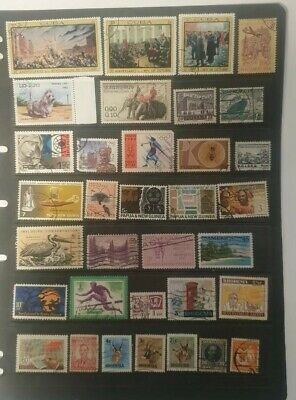 stamps  World Mixture - Used - Lot 245