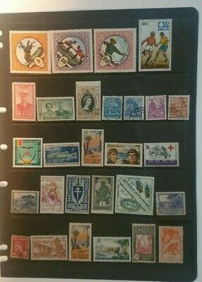 stamps  World Mixture - MH and Used - Lot 204