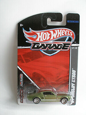 Hot Wheels Garage Series: '67 FORD Mustang Shelby GT500 / RR