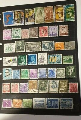 stamps  world mixture  - Used - Lot 206