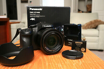 PANASONIC LUMIX DMC-FZ1000 Digital Camera with Free PC Accessory