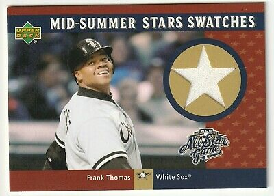 Frank Thomas 5 Card Relic Insert Lot-Hall Of Fame Chicago White Sox-Bv$32.00