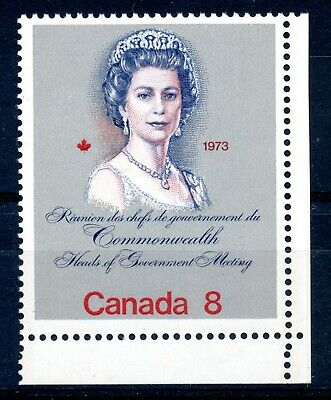 Weeda Canada 620i VF MNH LR corner single on HB, 8c silver Royal Visit CV $7.50