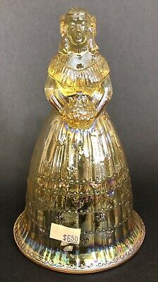 Vintage Imperial Glass Bell Bridesmaid Suzanne Southern Belle Figurine