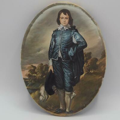 Vintage Blue Boy by Thomas Gainsborough Artmark Print on Fabric made in Italy