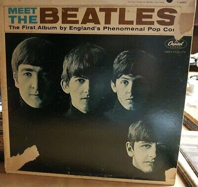 The Beatles - Meet The Beatles -1964 Lp