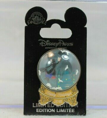 Disney Cast Exclusive Pin LE 1000 Happy Holidays 2018 Mary Poppins Snow Globe