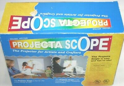 APCO Projecta Scope PJ768 Artist & Crafters Projector Tested