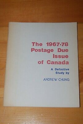 Weeda Literature: 1967-78 Postage Due Issue by Andrew Chung, signed, VF