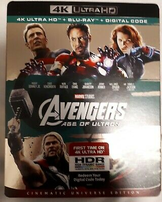 The Avengers Age Of Ultron (4K Ultra Hd/Bluray)Brand New Sealed