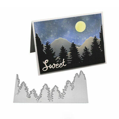 Tree Forest Metal Cutting Dies Scrapbook Emboss Paper Card Album Photo Craft Sal
