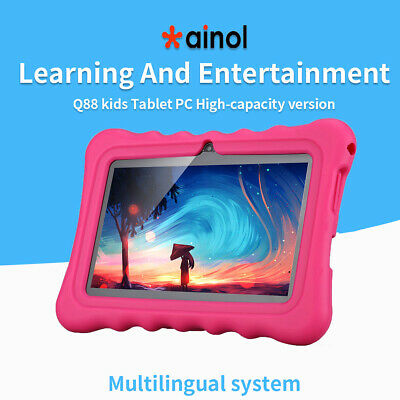 "7"" Ainol Q88 Kids Tablet Android7.1 Quad Core 1+16GB Dual Cam WIFI 2800Ah 3G BT"
