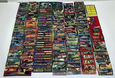 Marvel Comic Trading Cards 1993 Lot- Almost Complete