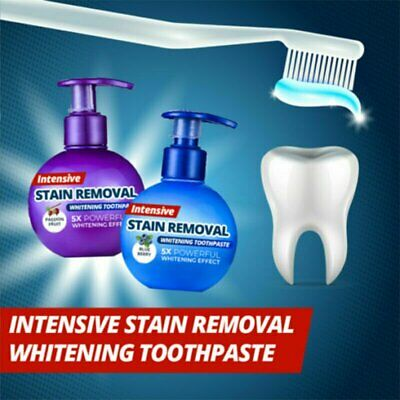Intensive Stain Removal Whitening Toothpaste Fight Bleeding Gums Toothpaste  VW