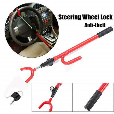 Universal Steering Wheel Lock Anti-Theft Security Single Hook fit for Car Truck