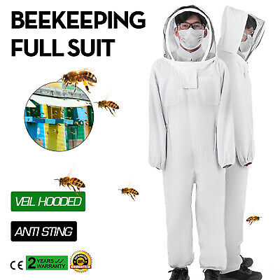 Beekeeping Bee Suit Ventilated Ultra Breathable Cotton Bundle XL