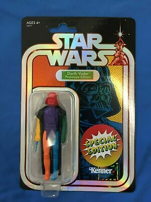 SDCC 2019 Kenner STAR WARS Darth Vader Retro Prototype Multicolor Target IN HAND