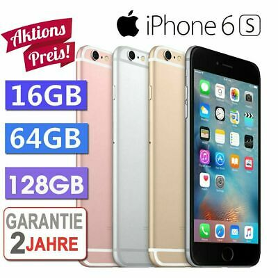 ☀️Apple iPhone 6S 16GB 32GB 64GB 128GB  Spacegrau / Silber / Gold/ Rosegold