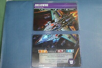 Transformers TCG Rise Combiners Wave 2 Dreadwing 2 card set!