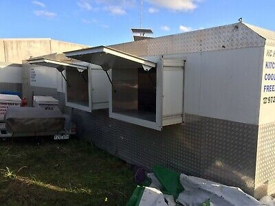 Mobile Kitchen Self Powered With Walk In Coolroom And Freezer Ready To Go