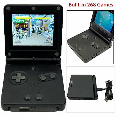 32Bit Game Console Bulit-in 268 Games Portable Handheld Player For GB Boy PVP
