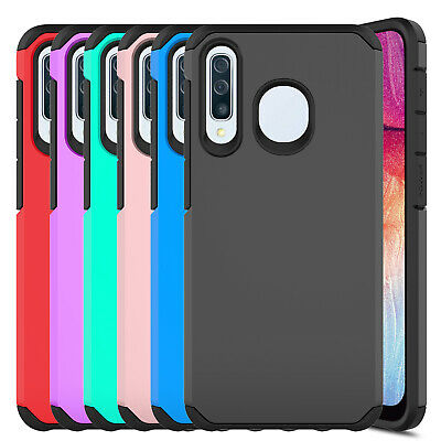 For Samsung Galaxy A20 A30 A50 Case Dual Layer Shockproof Armor Hard Phone Cover