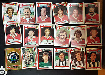 Panini Football 78 x 50 Different Stickers & Empty Wrapper