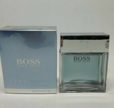 Hugo Boss Pure After Shave Lotion Splash (NO SPRAY) 75ml New & Rare