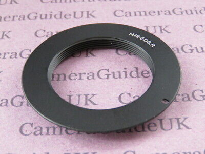 M42 Lens To Canon RF Lens Mount Adapter for Canon EOS RP, EOS R Camera