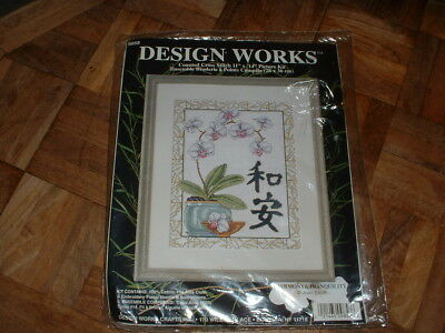 Design Works Counted Cross Stitch Kit #9858 Harmony & Tranquility NEW & Sealed