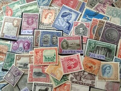 BRITISH EMPIRE/ COMMONWEALTH. Over 400 Mint & Used good Quality Stamps