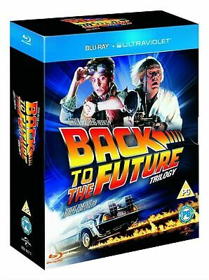 BACK TO THE FUTURE Trilogy Box Set  Blu-ray  Collection Part 1 2 3 UK NEW R2