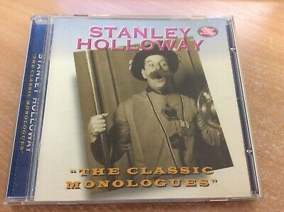Stanley Holloway The Classic Monologues Audio Cd C14