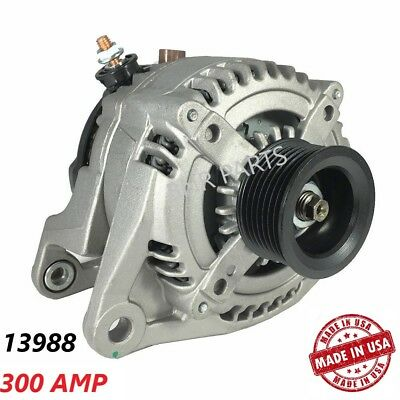 300 AMP 13988 Alternator Dodge Durango Ram High Output Performance HD NEW