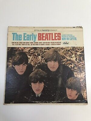 The Beatles The Early Beatles Vinyl Record