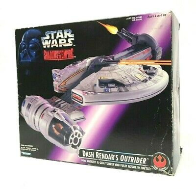 Vintage 1996 Star Wars Shadows of the Empire Dash Rendar's Outrider Complete