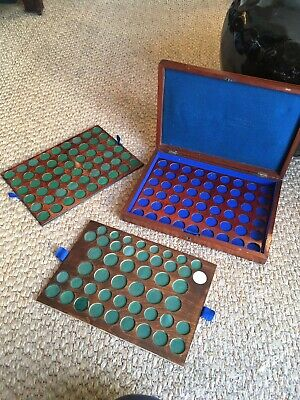 Victorian Mahogany Coin Colletion Case