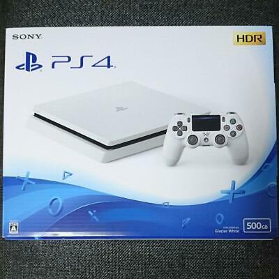 PlayStation 4 PS4 Glacier White 500 GB CUH-2100 AB02 SONY from JAPAN NEW