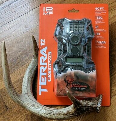 Wildgame Innovations Terra Extreme 12MP 720P HD Hunting Game Trail Video Camera