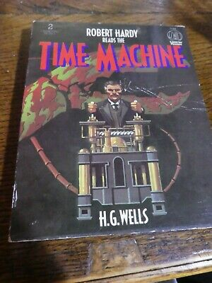 Time Machine audio book cassettes by H G Wells
