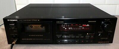 Pioneer CT-S610 Stereo Cassette Deck 3 Head System Dolby Auto BLE & HX PRO